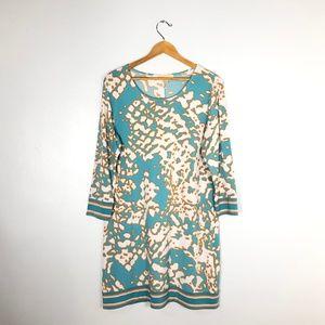 MICHAEL Michael Kors Aqua Blue Shift Dress -  XL